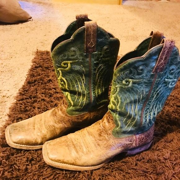 Artist men's western cowboy boots